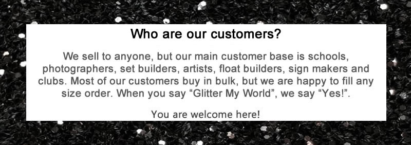 We Welcome All Customers