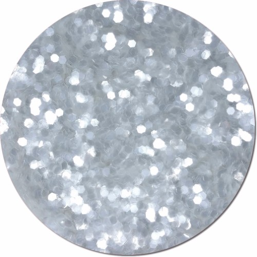 Diamond Clear Craft Glitter (colossal flake)- 8 oz. Jar
