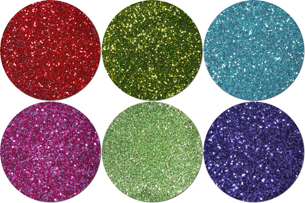 Dragonfly Wings Craft Glitter Assortment (6 colors)