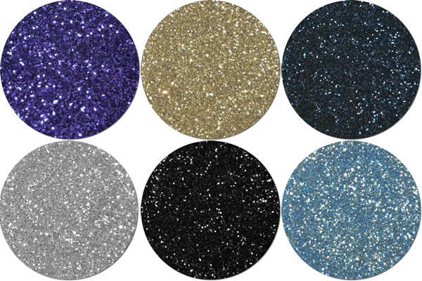Fly Me To The Moon Craft Glitter Assortment (6 colors)
