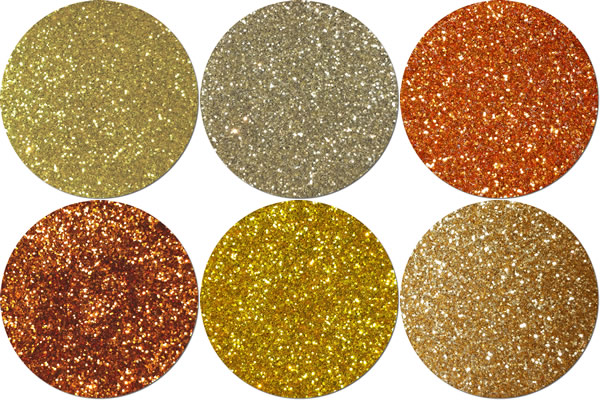 Here Comes The Sun Craft Glitter Assortment (6 colors)