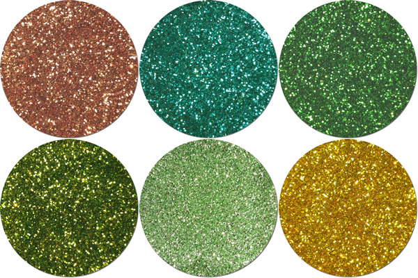 Leaping Lizards Craft Glitter Assortment (6 colors)