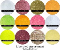 Liberated Glitter Assortment: Calling The Dawn (12 colors)