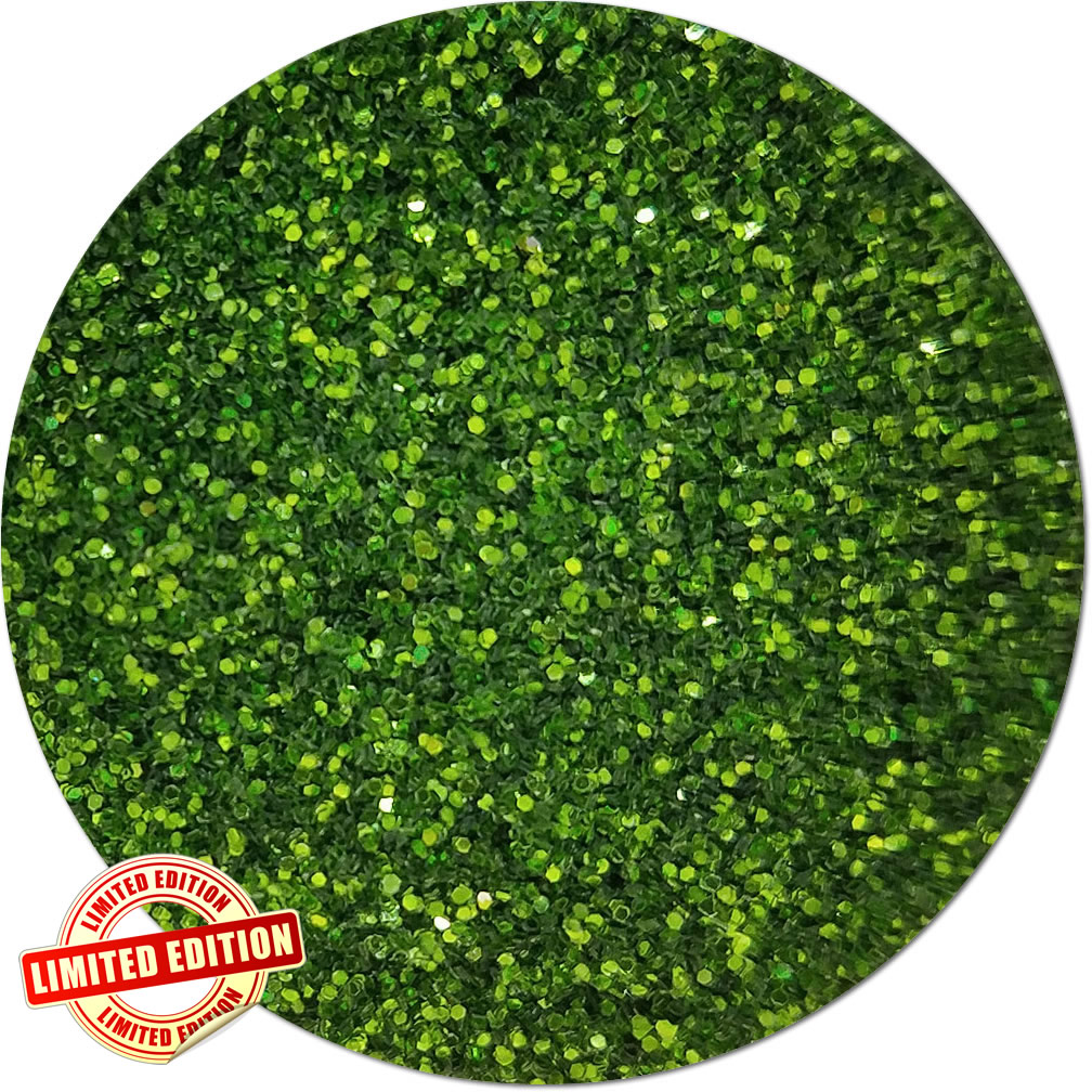Mint Leaf Craft Glitter (fine flake)- By The Pound