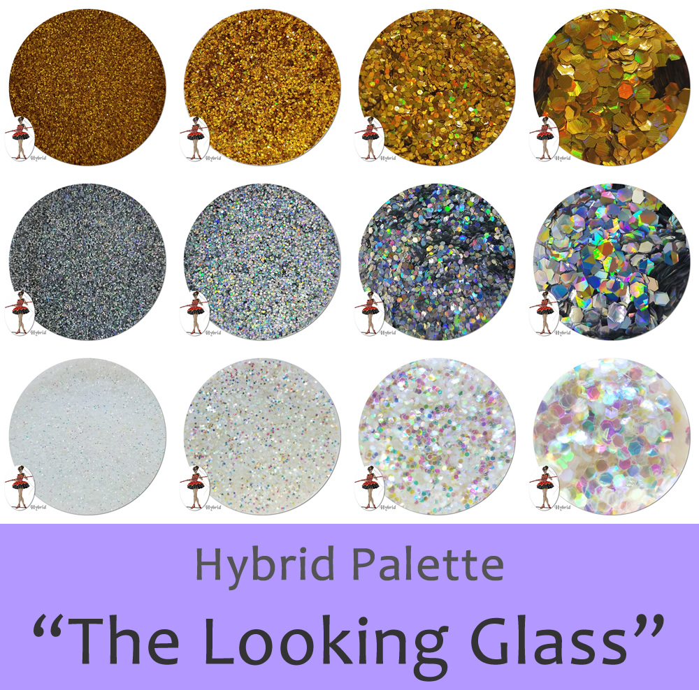 The Looking Glass (12 colors) :Hybrid Glitter Assortment
