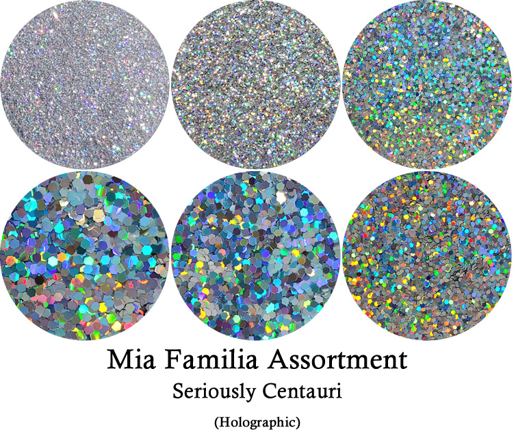 Seriously Centauri (6 sizes) :Mia Familia Glitter Assortment