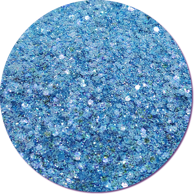 Bellflower Blue :Mixed Madness Glitter