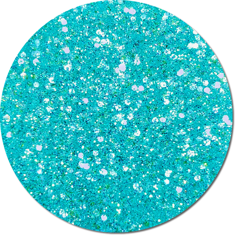 Teal Thistle :Mixed Madness Glitter