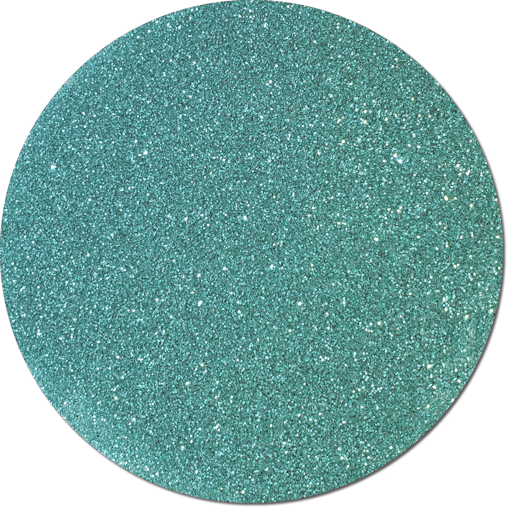 A Tiffany Blue Craft Glitter (fine flake)- 3/4 oz Jar