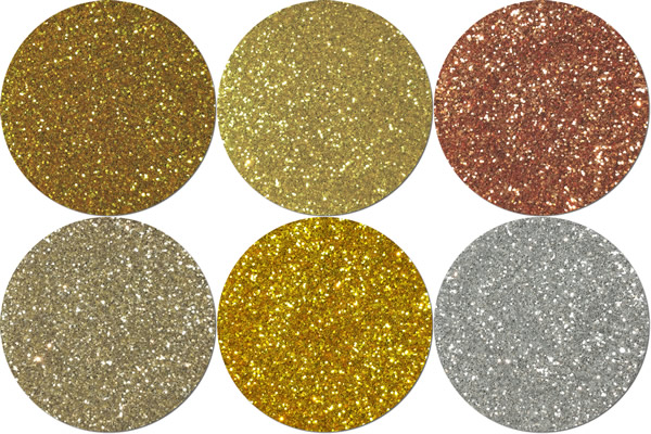 All That Glitters Craft Glitter Assortment (6 colors)