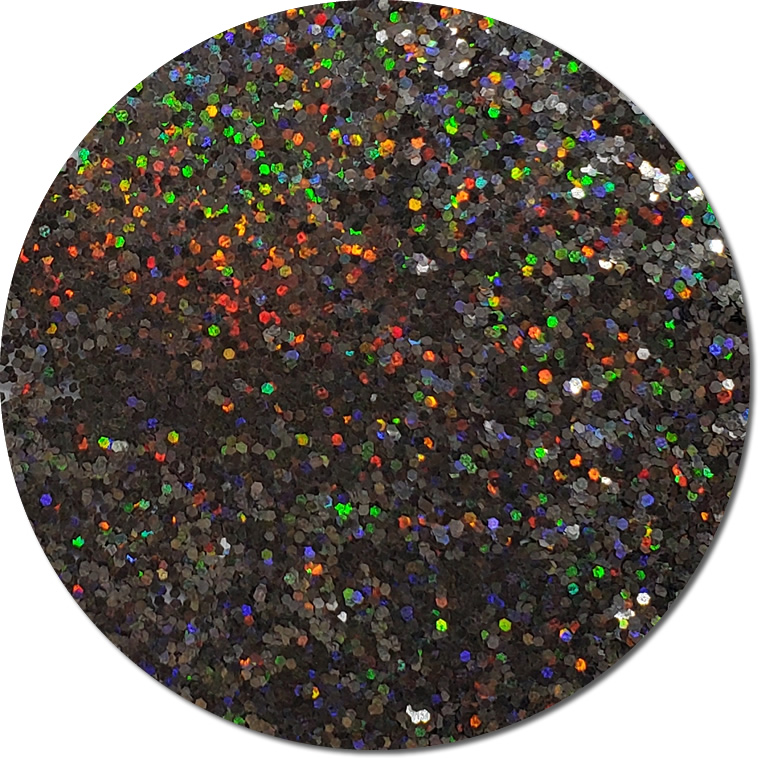 Back In Black : Chunky Glitter Cosmetic Holographic (Mini)