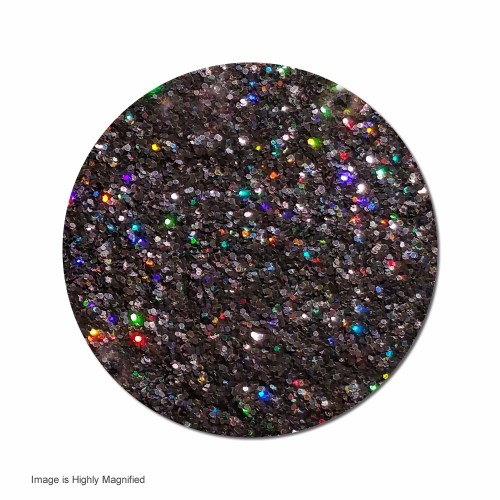 Back In Black :Fine Glitter Cosmetic  Holographic (Mini)