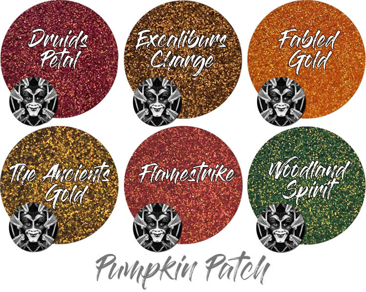 Pumpkin Patch (6 colors for skin): COSMETIC Boutique Assortment