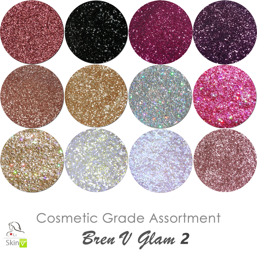 COSMETIC Liberated Glitter Assortment: Bren V Glam 2 (limited edition)