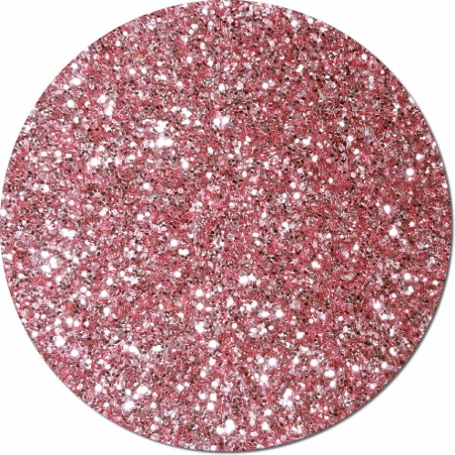 Carnation Pink Craft Glitter (chunky flake)- 25lb Boxed