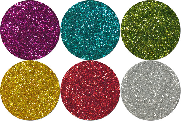 Carnival Craft Glitter Assortment  (6 colors)