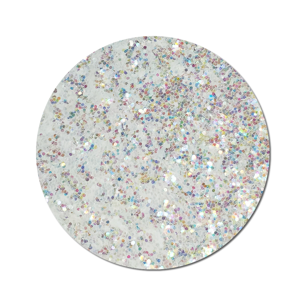 Cloud Buster Clear :Chunky Glitter Cosmetic Iridescent (jar)