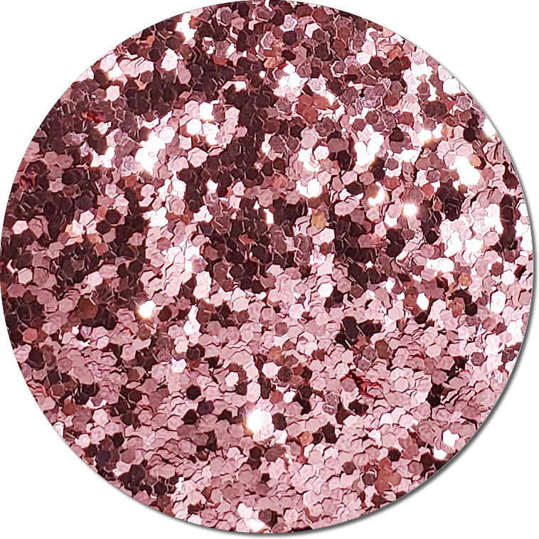 Copper Rose :Chunky Glitter Metallic (bulk)
