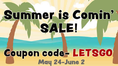 Summer is Comin' Sale!