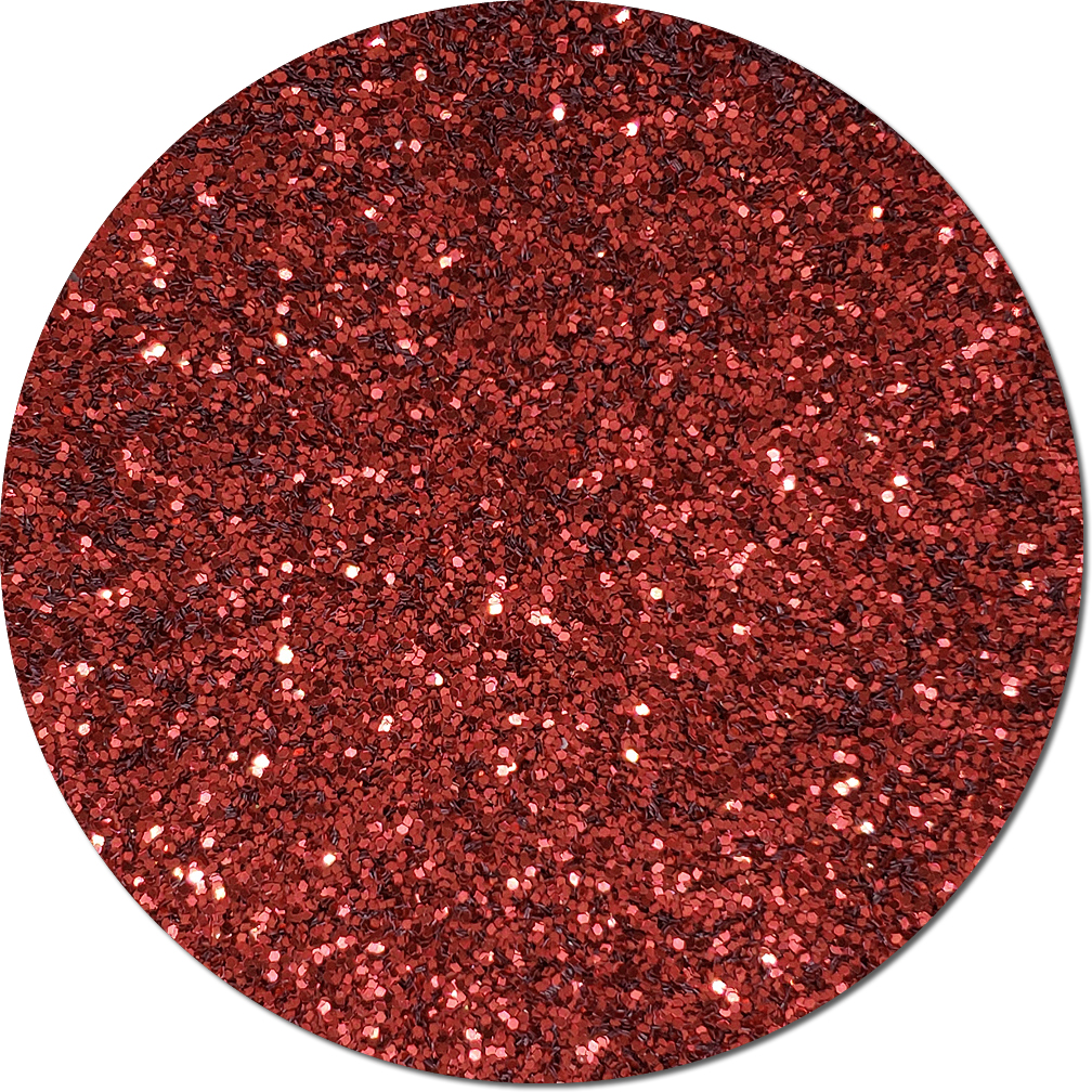Crimson Crush Craft Glitter (chunky flake)- 3/4 oz Jar