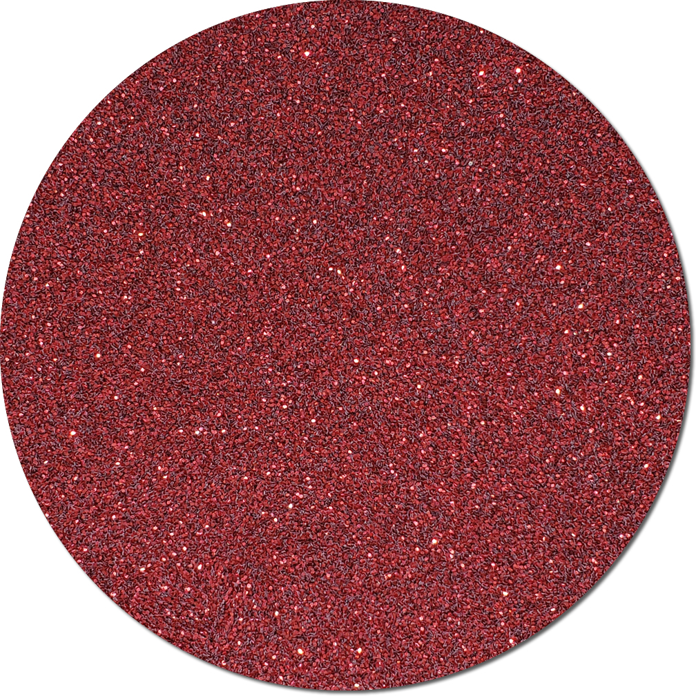 Crimson Crush Craft Glitter (fine flake)- 3/4 oz Jar