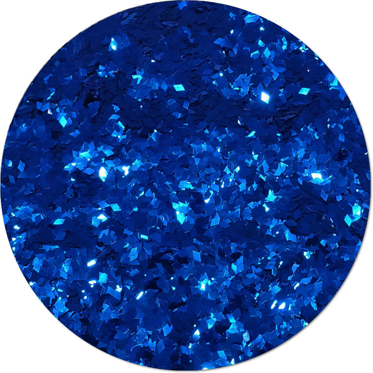Dwarf Star Blue :Diamond Shape Metallic Glitter (bulk)