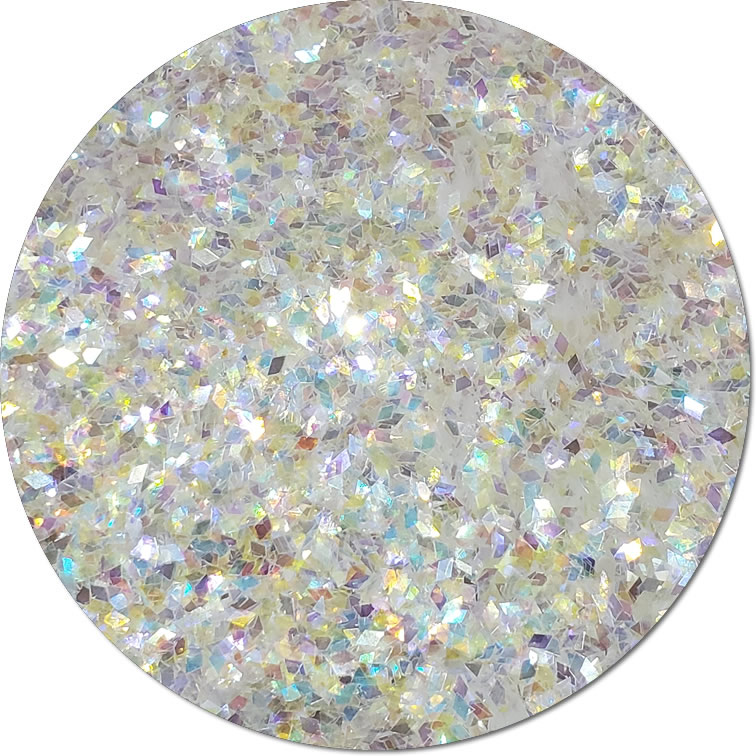 Glitterati Rainbow :Diamond Shape Iridescent Glitter (jar)