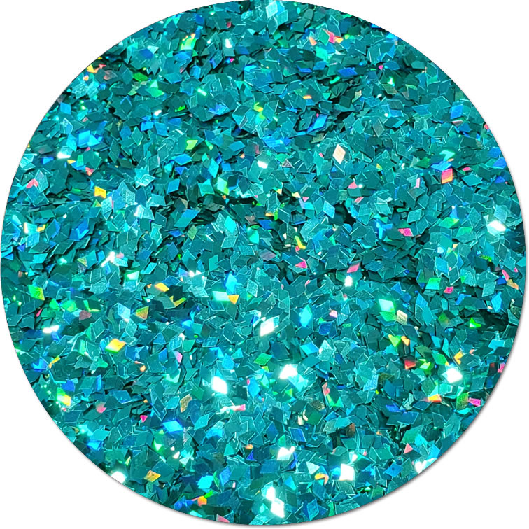 Nebulas Spin :Diamond Shape Holographic Glitter (bulk)