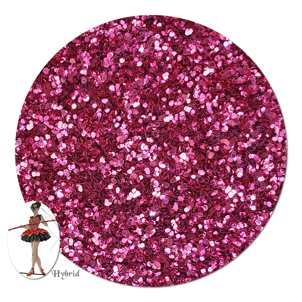 In The Pink Metallic Hybrid Glitter (fine)- 4 oz. Jar