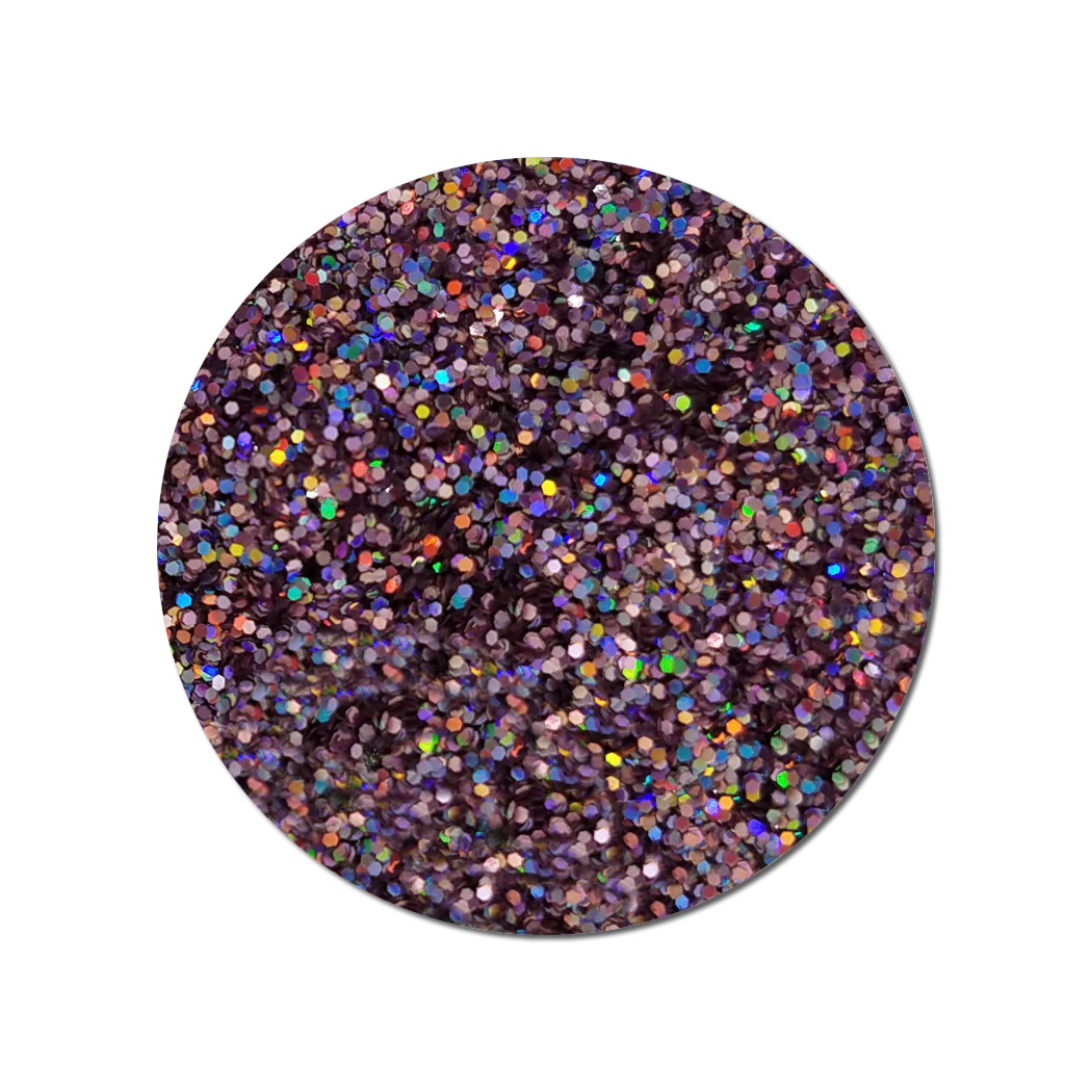 Man Trap Pink :Fine Cosmetic Holographic Glitter (jar)