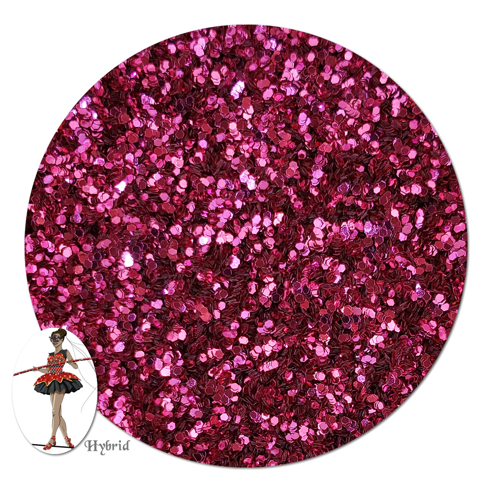 Mountain Rose Metallic Hybrid Glitter (fine)- 8 oz. Jar