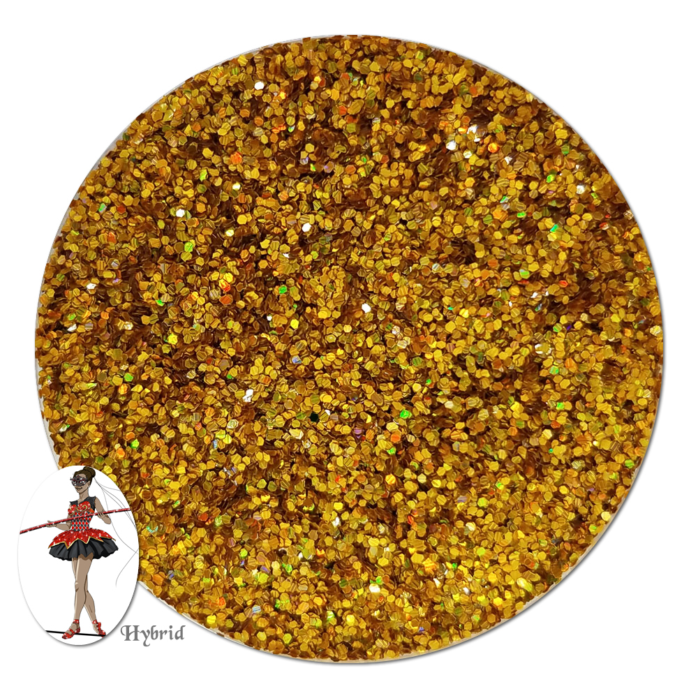 Spiritspark Gold Holographic Hybrid Glitter (fine)- By The Pound