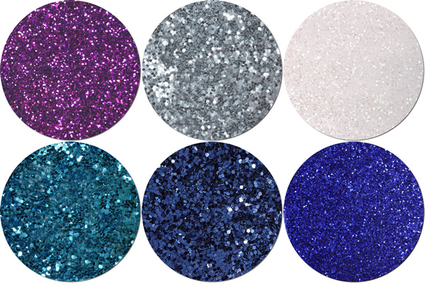Festival Of Lights Craft Glitter Assortment (6 colors/sizes)