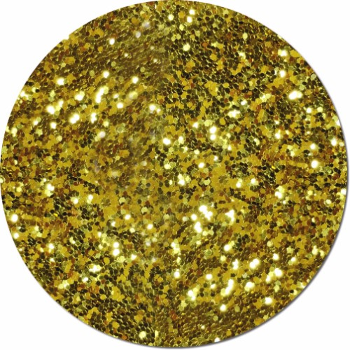 Gold Bullion Craft Glitter (Fat flake)- 8 oz. Jar