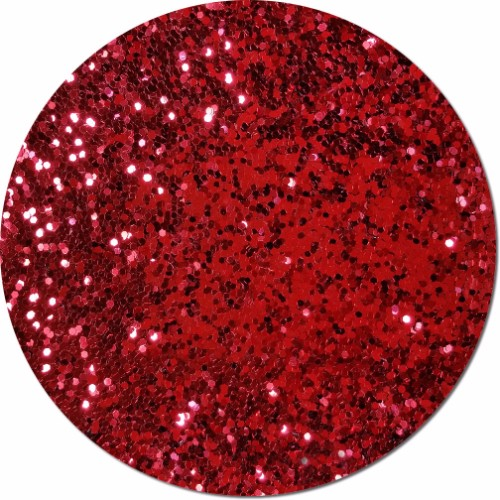 Red Apple Radiance Craft Glitter (Fat flake)- By The Pound