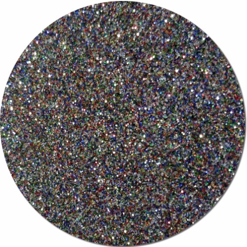 Multi Rainbow Craft Glitter (fine flake)- 4 oz. Jar