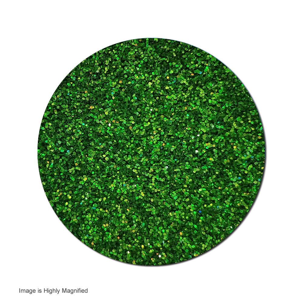 Galileo Green :Ultra Fine Glitter Holographic (jar)