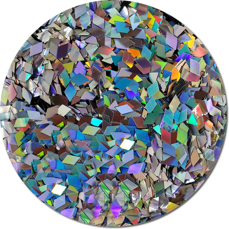 Girls Best Friend :Diamond Shaped Holographic Glitter (bulk)