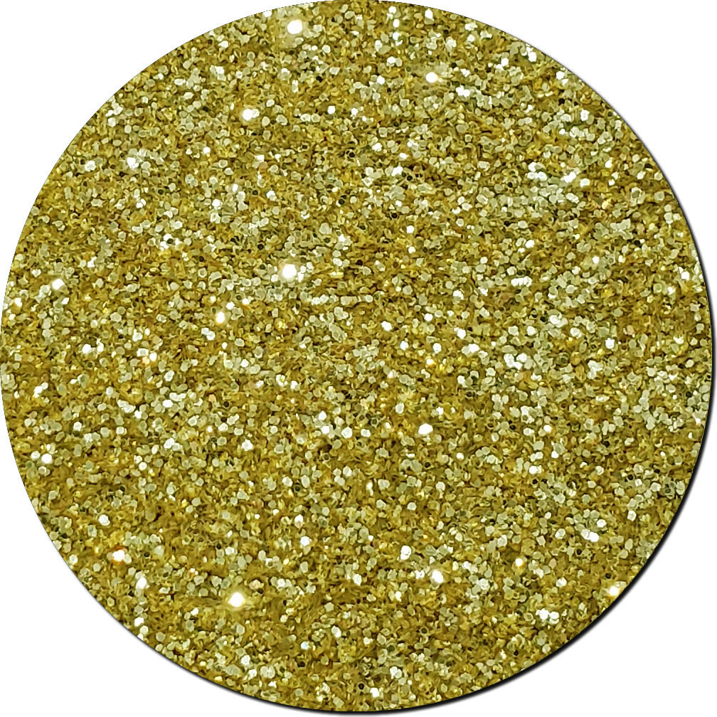 Gold Bullion Craft Glitter (fine flake)- 25lb Boxed