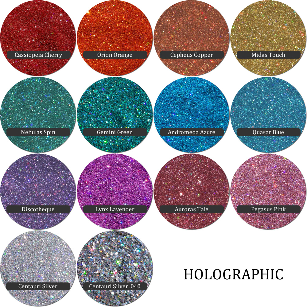 Holographic :Custom Family Glitter Mix