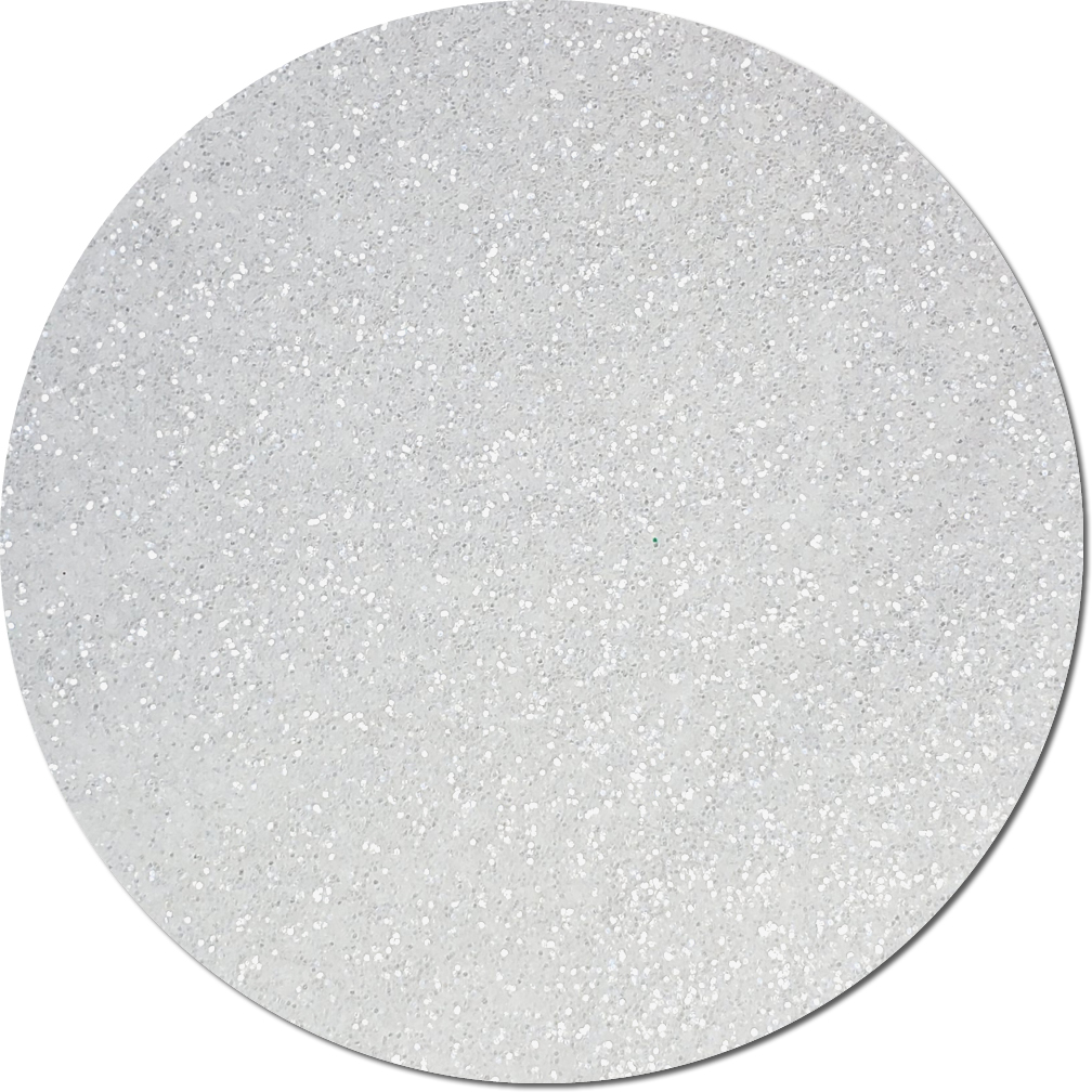 Icicle Clear Craft Glitter (fine flake)- 3/4 oz Jar