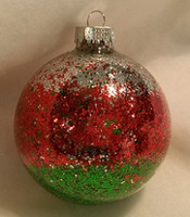 Glittering Glass Ornaments