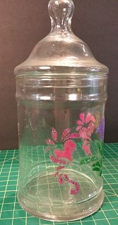 Decorative Glitter Jar #1