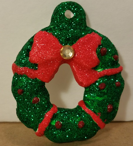 glitter ceramic christmas tree ornaments - Ceramic Christmas Ornaments