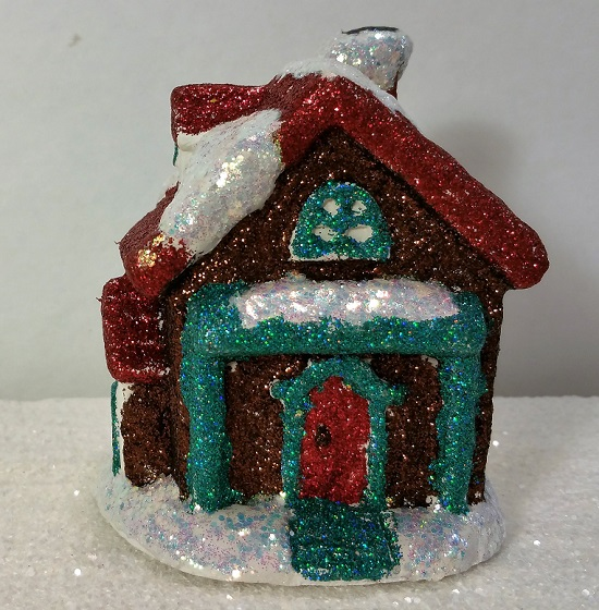 Glitter Winter Home