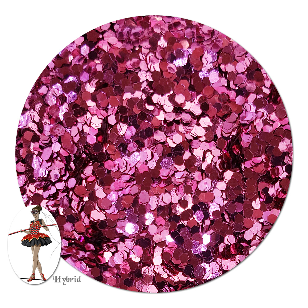 In The Pink Metallic Hybrid Glitter (chunky)- 3/4 oz Jar