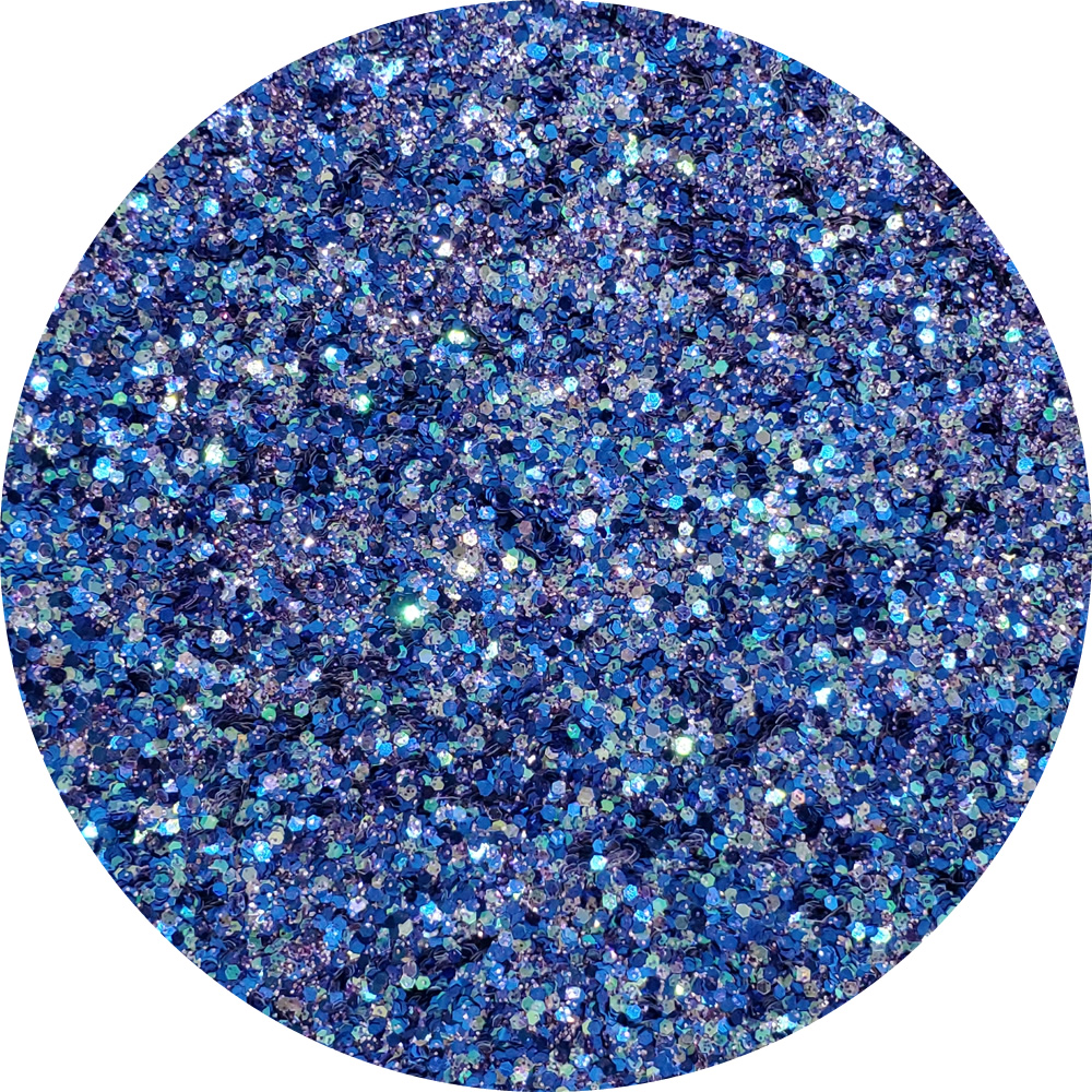 Indigo Wings : Twisted Glitter Cosmetic Mix