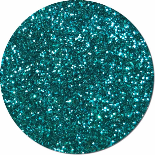 Jeweled Blue Craft Glitter (chunky flake)- 8 oz. Jar