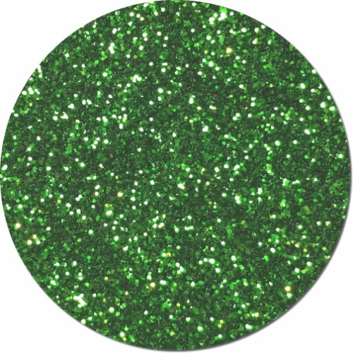 Kelly Green Dream Craft Glitter (chunky flake)- 3/4 oz Jar