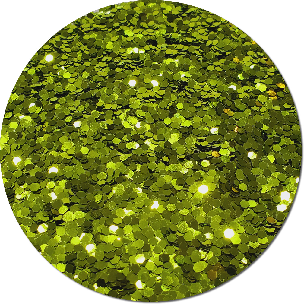 Lime Luster Craft Glitter (Jumbo flake)- By The Pound